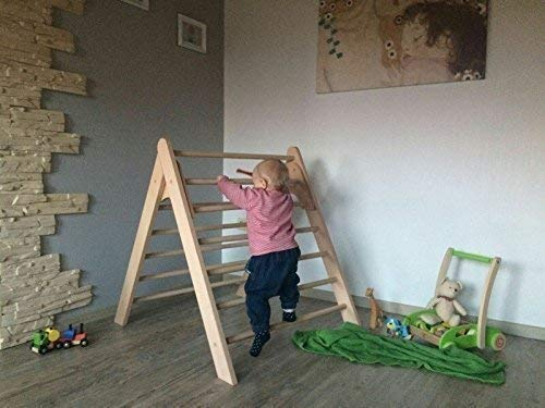 Kleinkind Klettert Dreieck : Kletterdreieck nach art pikler !!!extragroß!!!: amazon.de: handmade