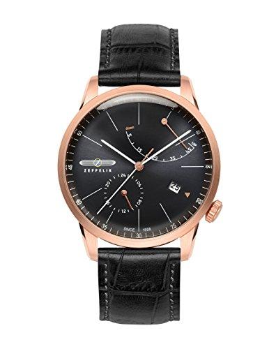 (Graf Zeppelin LZ129 Flatline Automatic Watch with Power Reserve 7368-2)
