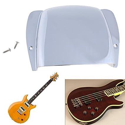Broadroot 1pc Cubierta cordal para guitarra eléctrica Bass corto Protective puente para guitarra: Amazon.es: Instrumentos musicales