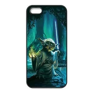 Star Wars Yoda iPhone 4 4s Cell Phone Case Black yyfabd-285028