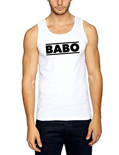 Babo Muscleshirt White