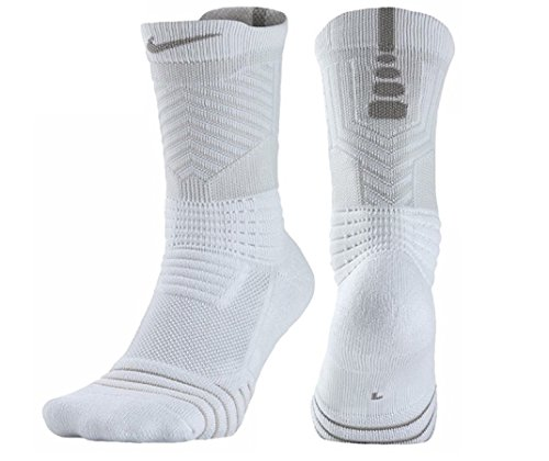 Nike Elite Versatility Dri-Fit Cushioned Crew Basketball Socks