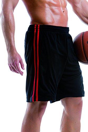 Gamegear - Pantalón corto deportivo - para hombre Navy/Light Blue
