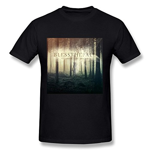 RZF Men's Blessthefall To Those Left Behind T-Shirt-XL - Warth South
