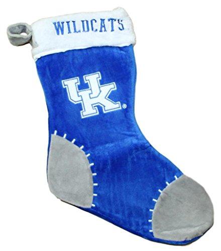 Kentucky Wildcats 2017 NCAA Basic Logo Plush Christmas Stocking (Wildcats Ncaa Christmas Stocking)