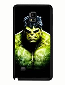 The Hulk Design Terrific Theme Comic Samsung Galaxy Note 4 Solid Case yiuning's case