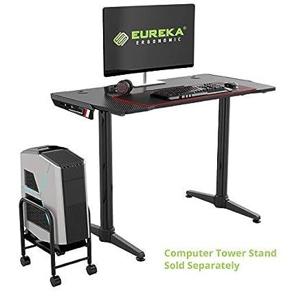 Amazon Com Eureka Ergonomic I1 Gaming Desk Gaming Style Office