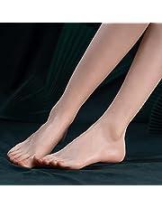 Siliconen Simulatie Voeten Vrouwelijk Echt Model, Kindervoeten Kunstschets Voetspeelgoed, Schieten Display Props Medical Painting Kunstmatige Voet Kousen (Grootte : Right foot)