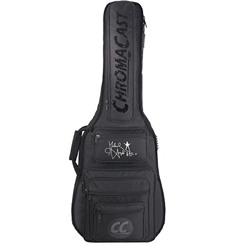 Electric Rock Guitar Bag - ChromaCast Pro Series Michael Angelo Batio Signature Electric Guitar Padded Gig Bag (CC-PS-EPB MAB)