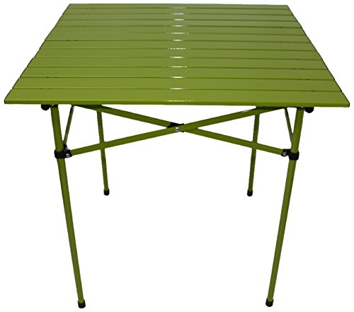 Aspen MT2727G My First Central Park Tall Aluminum Portable Table in a Bag Green TIAB INC