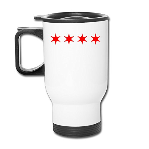 Custom Flag Of Alliance Française De Chicago Handy Travel Mugs Gift By Katiydry (Mug Fox Tag)