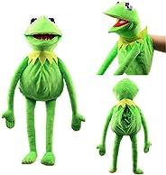 Natseekgo 23.6 inch Kermit Frog Puppet,kermit the frog puppet hand puppet full body Christmas birthday gifts f