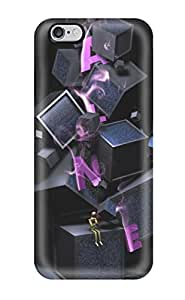 Hot Tpye Letter Boxes D Artwork Graphic Aphabetic Letters Purple Dark Grey Case Cover For Iphone 6 Plus