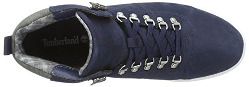 Timberland Groveton Hiker, Scarpe a Collo Alto Uomo Blu (Blu)