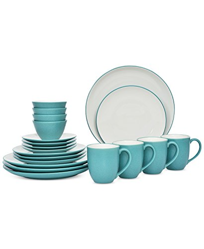 Noritake Colorwave 20-Pc. Coupe Turquoise Dinnerware Set ()