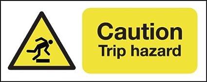 100 x 250 mm advertencia viaje peligro - carteles - señales ...