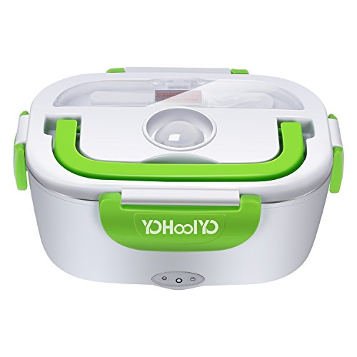 - YOHOOLYO Electric Lunch Box Food Heater Portable Lunch Heater with Removable Stainless Steel Container Food Grade Material