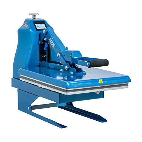 HIX S650 Digital Auto Open Clamshell Heat Press Machine with 16