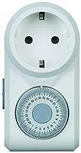 Legrand 699811 Interruptor Horario Enchufable, Programa Diario-2P+T