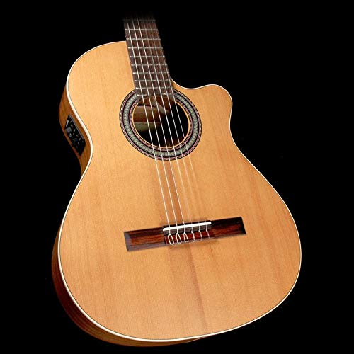 - Alhambra Open Pore Collection OP1 Cutaway Classical Nylon String Acoustic Guitar Natural