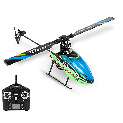 WLtoys V911S RC Helicopter 4CH 6G Non-aileron with Gyroscope for Training Kids Toys Children Gift