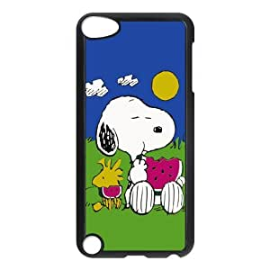 Snoopy Customize iPod 5 Protective Hard Plastic Shell Cover Case Suit For iPod Touch 5th Generation