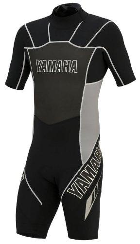 Yamaha Wetsuit (OEM Yamaha Waverunner Youth Large Black Shorty Wetsuit)