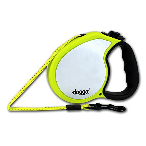 doggo Reflective Retractable Yellow Accents product image