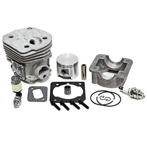 45MM Big Bore Cylinder Piston Gasket Kit for Husqvarna 353 351 350 346 345 340