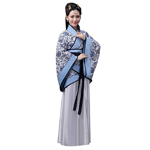Ez-sofei Women's Ancient Chinese Han Dynasty Traditional Costume Set Hanfu Dresses S]()