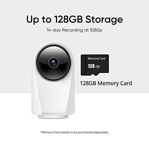 realme 360 Deg 1080p Full HD WiFi Smart Security Camera (White) | Alexa Enabled | 2-Way Audio | Night Vision | Motion…