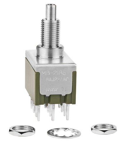 NKK Switches MB2185SS1W03 MINIATURE PUSHBUTTON/MULTI-FUNCTION