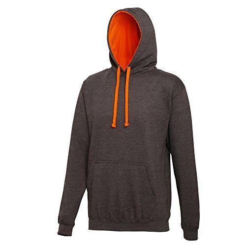 Capuche Awdis Sweatshirt Homme À Gris Orange Foncé xqCwB