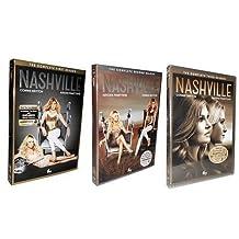Nashville dvd season 1-3, one, two and three