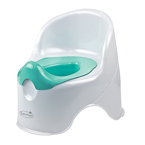 Summer Infant Lil' Loo Potty, White and Teal from Summer Infant