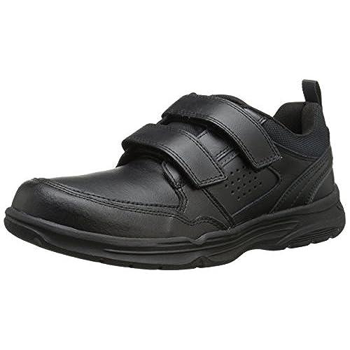 Rockport Mens StateOMotion Hook and Loop Black Leather 11 M D
