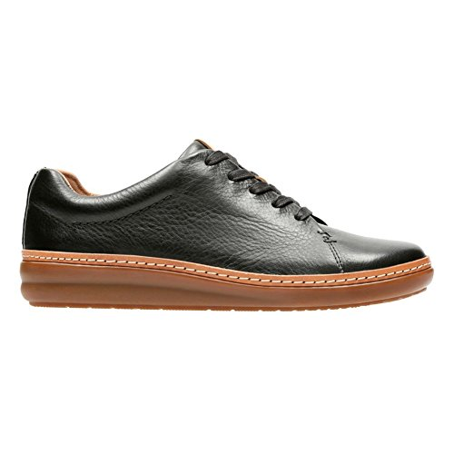 CLARKS Women's Amberlee Crest Oxford, Black, 7.5 M US by CLARKS