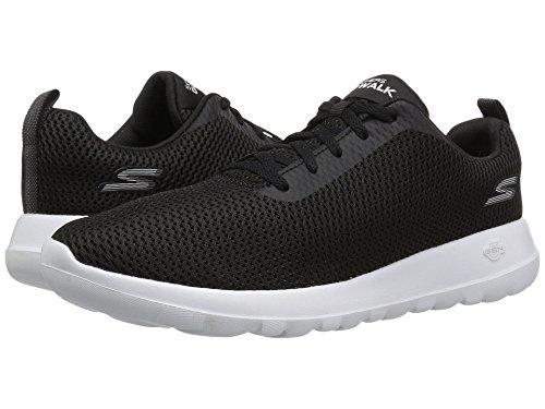 [SKECHERS(スケッチャーズ)] メンズスニーカー?ランニングシューズ?靴 Go Walk Max - 54601 Black/White 8.5 (26.5cm) EE - Wide