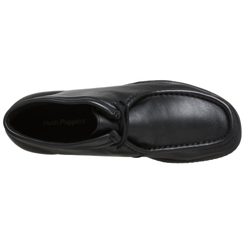 Leather Puppies pelle in Bootport uomo nera Hush da U5gwUq