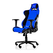 Arozzi Torretta Series Gaming Racing Style Swivel Chair, Blue