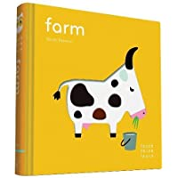 TouchThinkLearn: Farm: (childrens Books Ages 1-3, Interactive Books for Toddlers, Board Books for Toddlers)