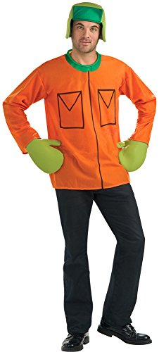 DISC0UNTST0RE South Park Kyle Adult Halloween Costume - Most Adults