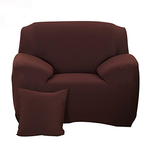 - Hotniu Stretch Sofa Slipcover 1 Piece Polyester Spandex Fabric Couch Cover Fitted Furniture Slipcovers Loveseat Sofas (Chair, Coffee)