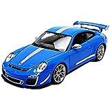 Bburago - 11036bl - Porsche - 911/997 Gt3 Rs 4.0l - Échelle 1/18
