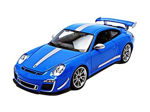 - Bburago 11036BL Porsche 911 GT3 RS 4.0 Blue 1/18 Diecast Car Model
