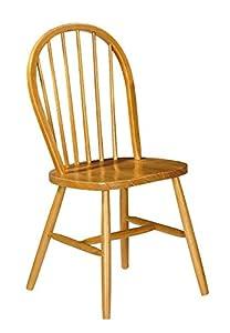 Julian Bowen Windsor Dining Chairs Pine Set Of 2 Amazon