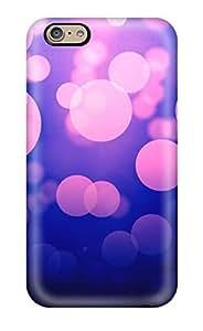 New Tpu Hard Case Premium Iphone 6 Skin Case Cover(purple Light Dots)