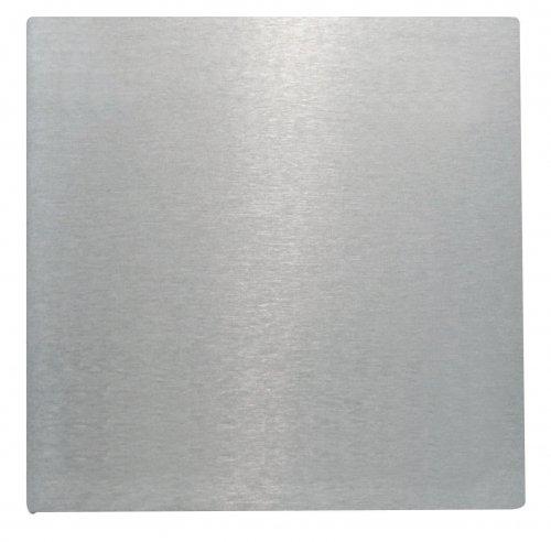 St/ärke 6mm einseitig geschliffen Ankerplatte 100 x 100mm