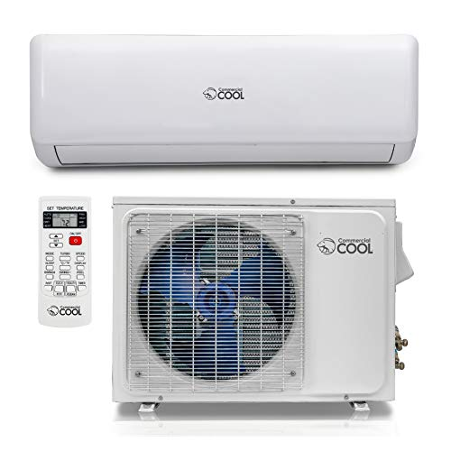 Commercial Cool CSAH1820AC Split Air Conditioner, 18,000 BTU, White