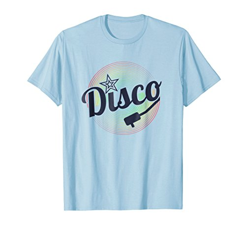 70's Retro Disco Dancing LP Record Party Costume Tee Shirt